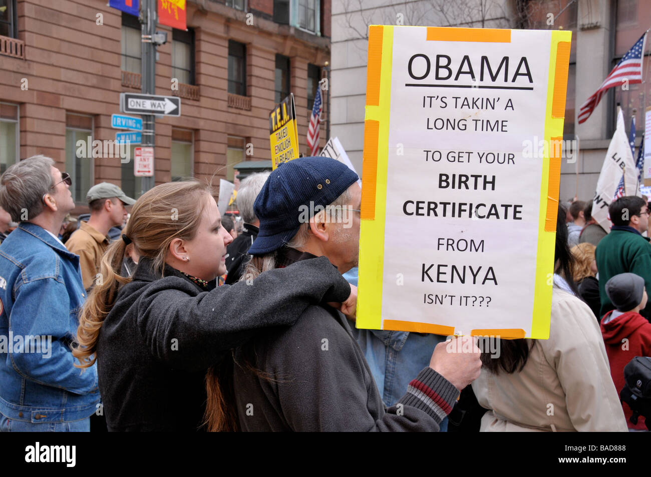 Tax Day April 15 Tea Party Peaceful Protest In Rochester Ny Usa