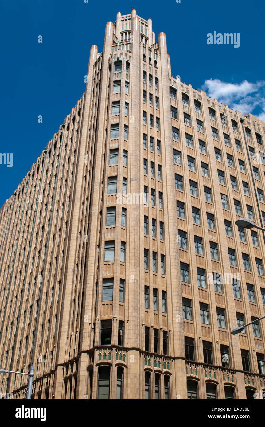 1930s Art Deco ''Grace Hotel' on York Street, Central Business District, Sydney, NSW Australia - Stock Image