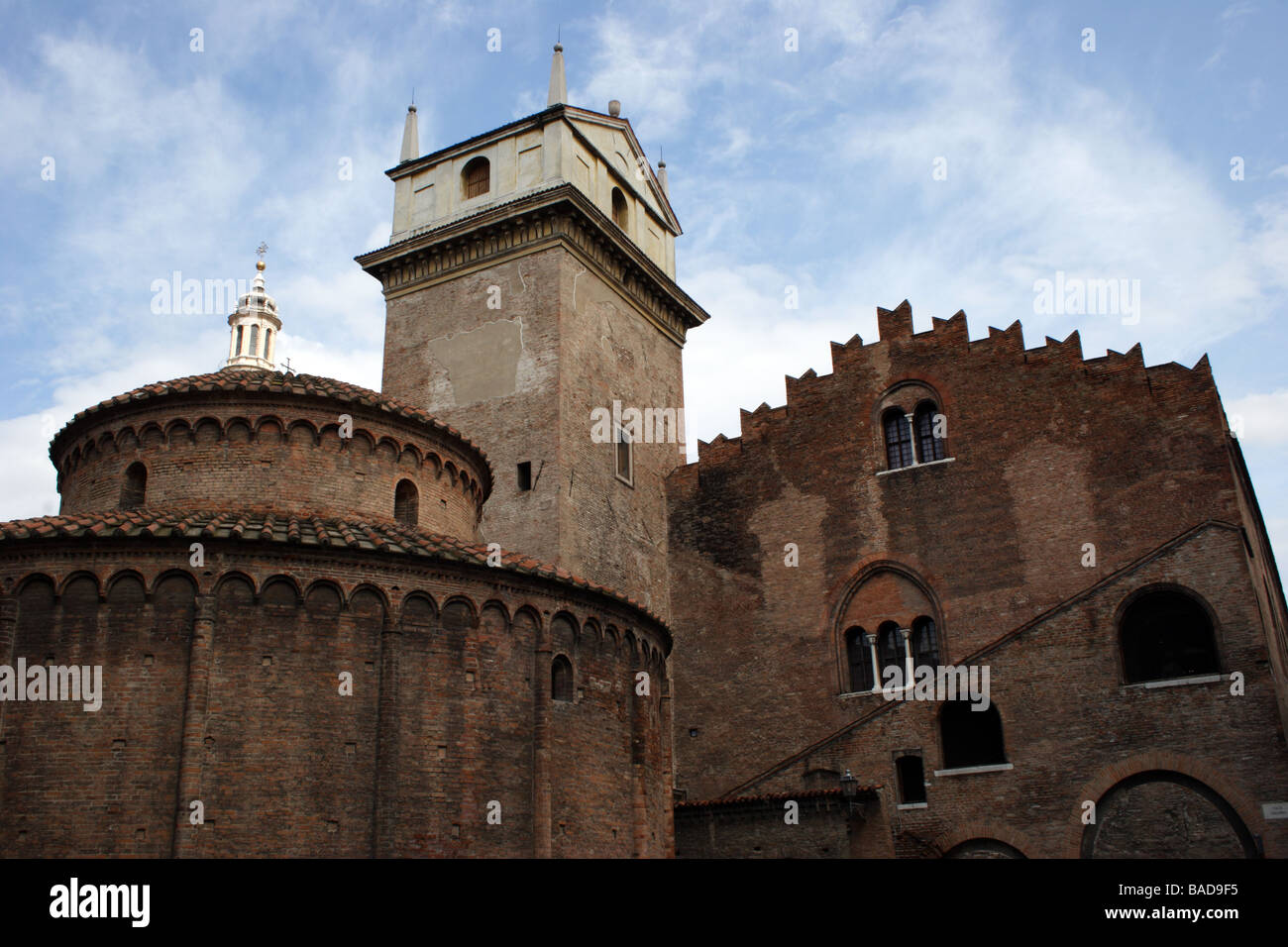 Mantova's high Middle Ages - Stock Image