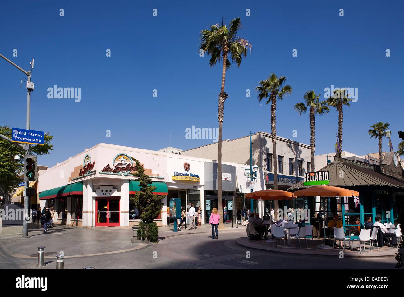 Restaurants Rd Street Promenade Santa Monica Ca