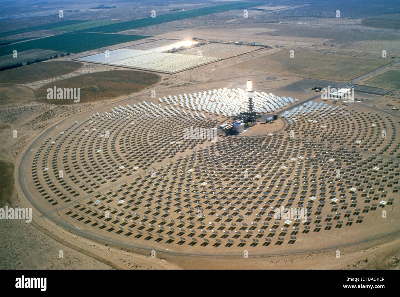 Solar One Power Electric Plant Generate Station Facility