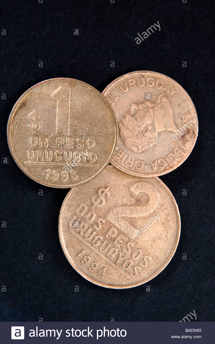 Uruguayan Peso Stock Photos & Uruguayan Peso Stock Images