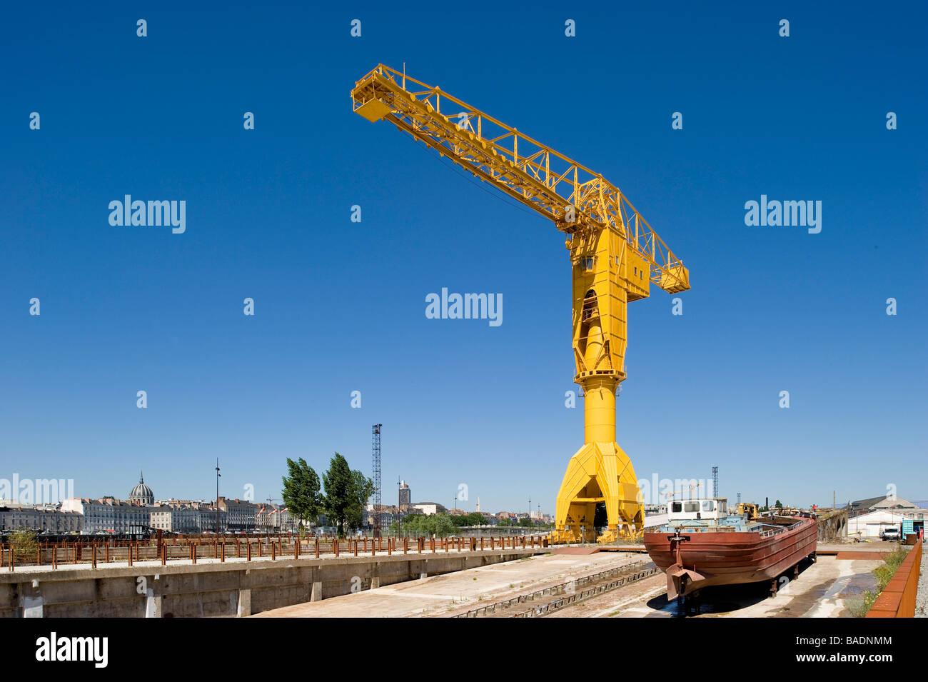 France, Loire Atlantique, Nantes, Isle of Nantes, Titan - Stock Image