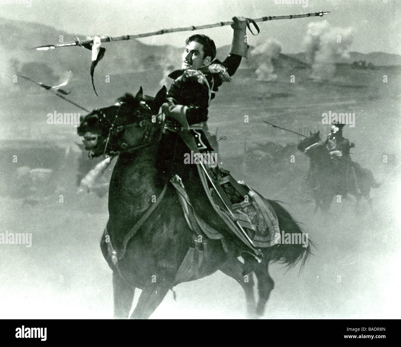THE CHARGE OF THE LIGHT BRIGADE  1936 Warner film with Errol Flynn - Stock Image