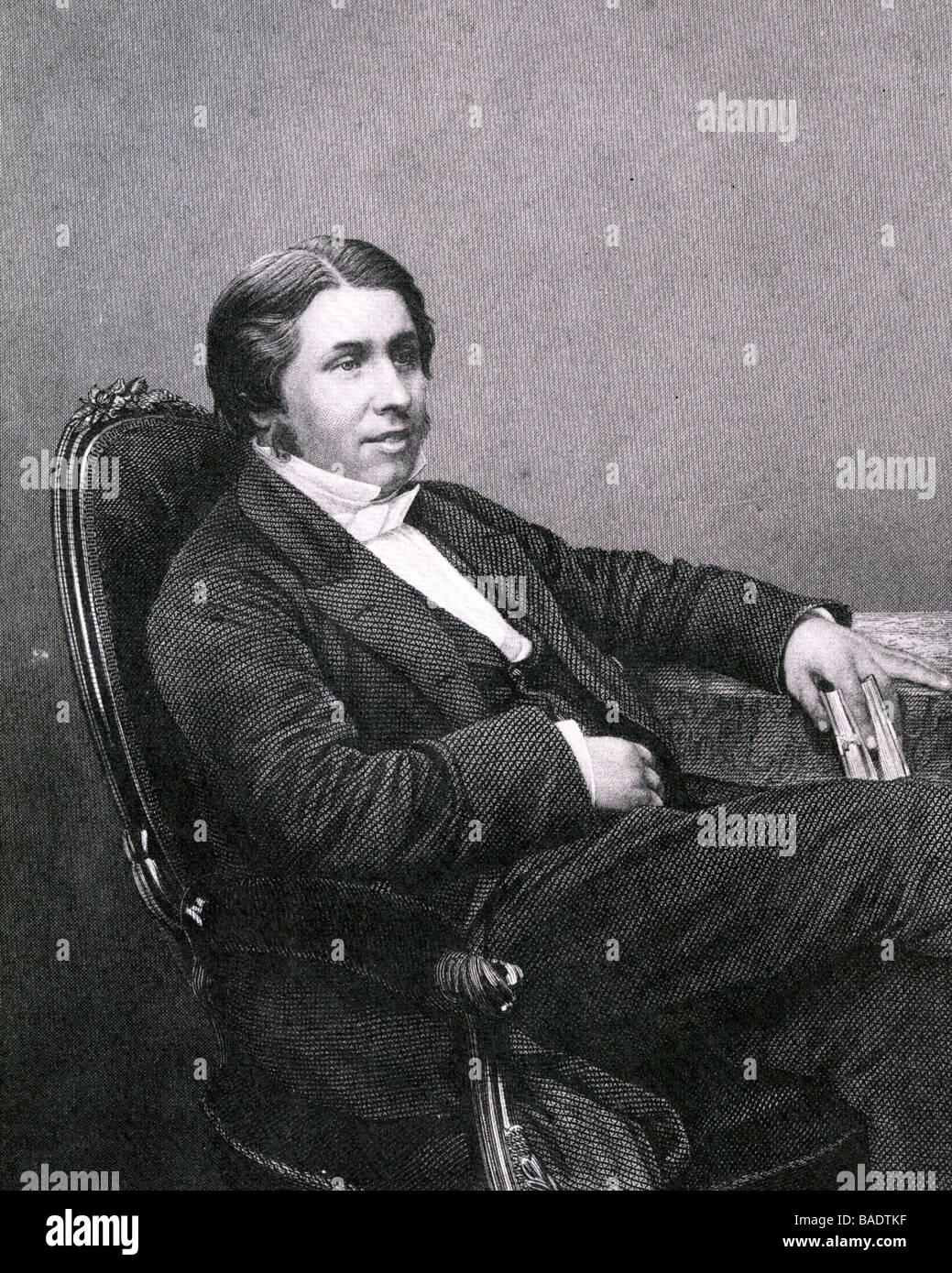 DR CHARLES SPURGEON (1834-92) prominent English Baptist - Stock Image