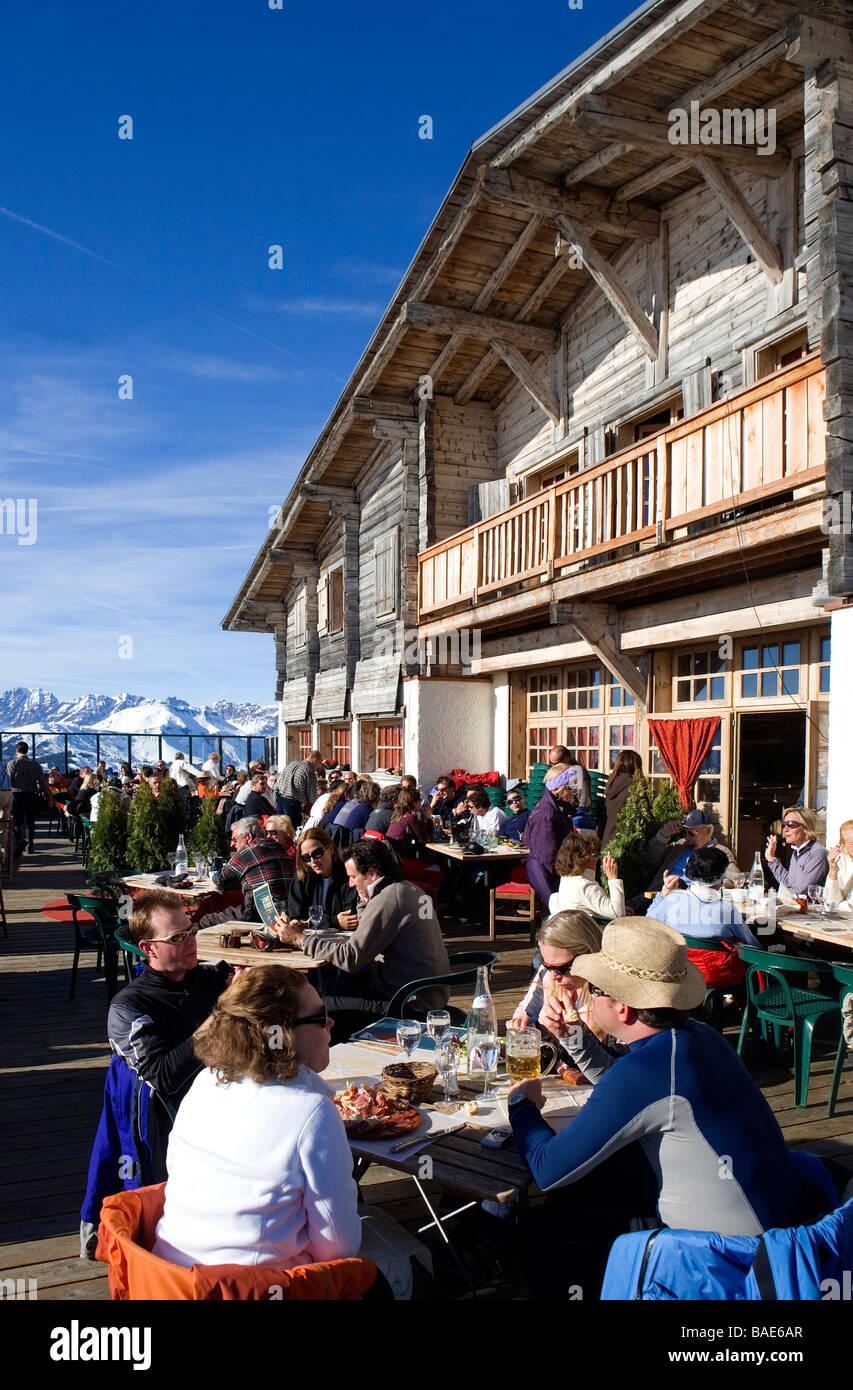 France Haute Savoie Megeve Summit Of The Mont D Arbois