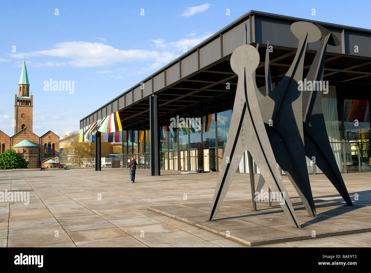 neue national gallery stock photos neue national gallery stock images alamy. Black Bedroom Furniture Sets. Home Design Ideas