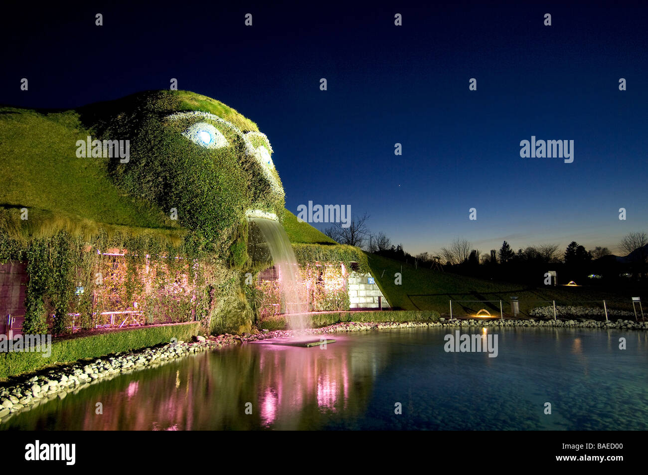 f37cad66e Austria, Tyrol, Wattens, the museum Swarovski, Crystal World, the entry