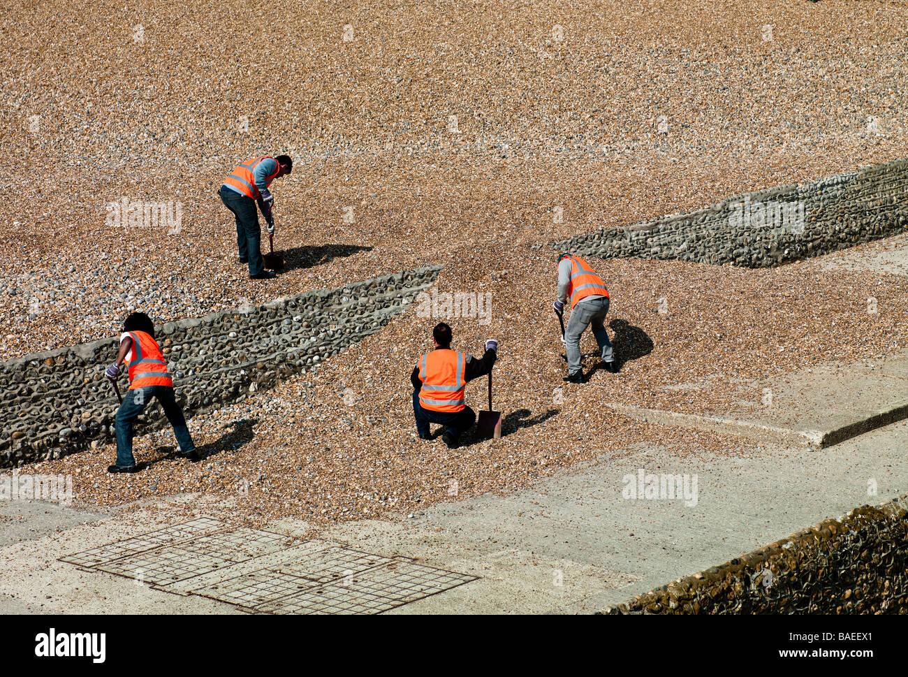 Labourers - Stock Image