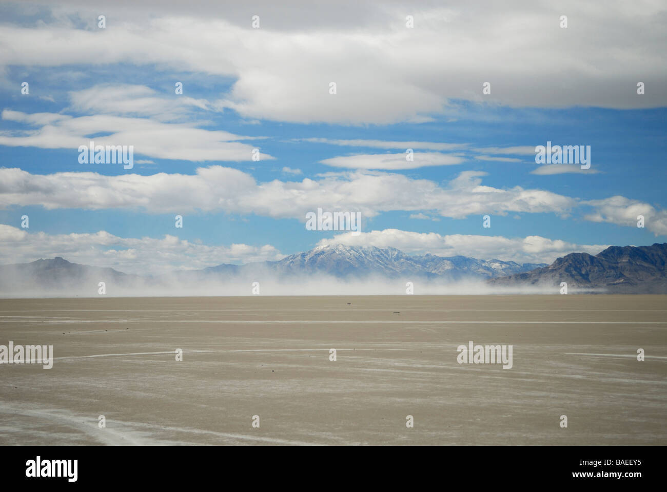 Desert landscape in Utah, USA - Stock Image