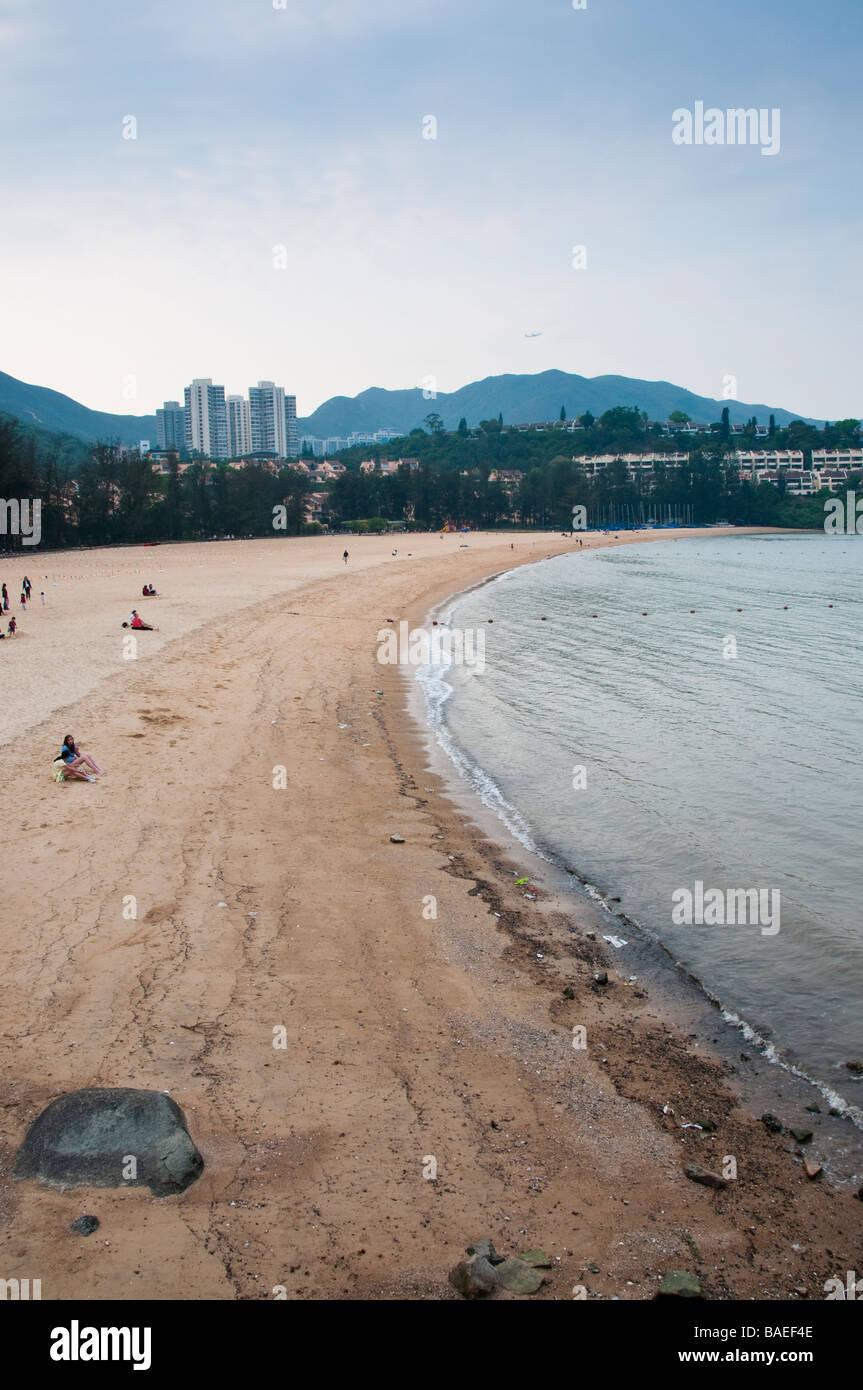 Discovery Bay, Hong Kong. - Stock Image