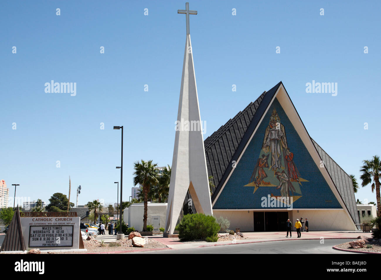 guardian angel cathedral catholic church guardian way las