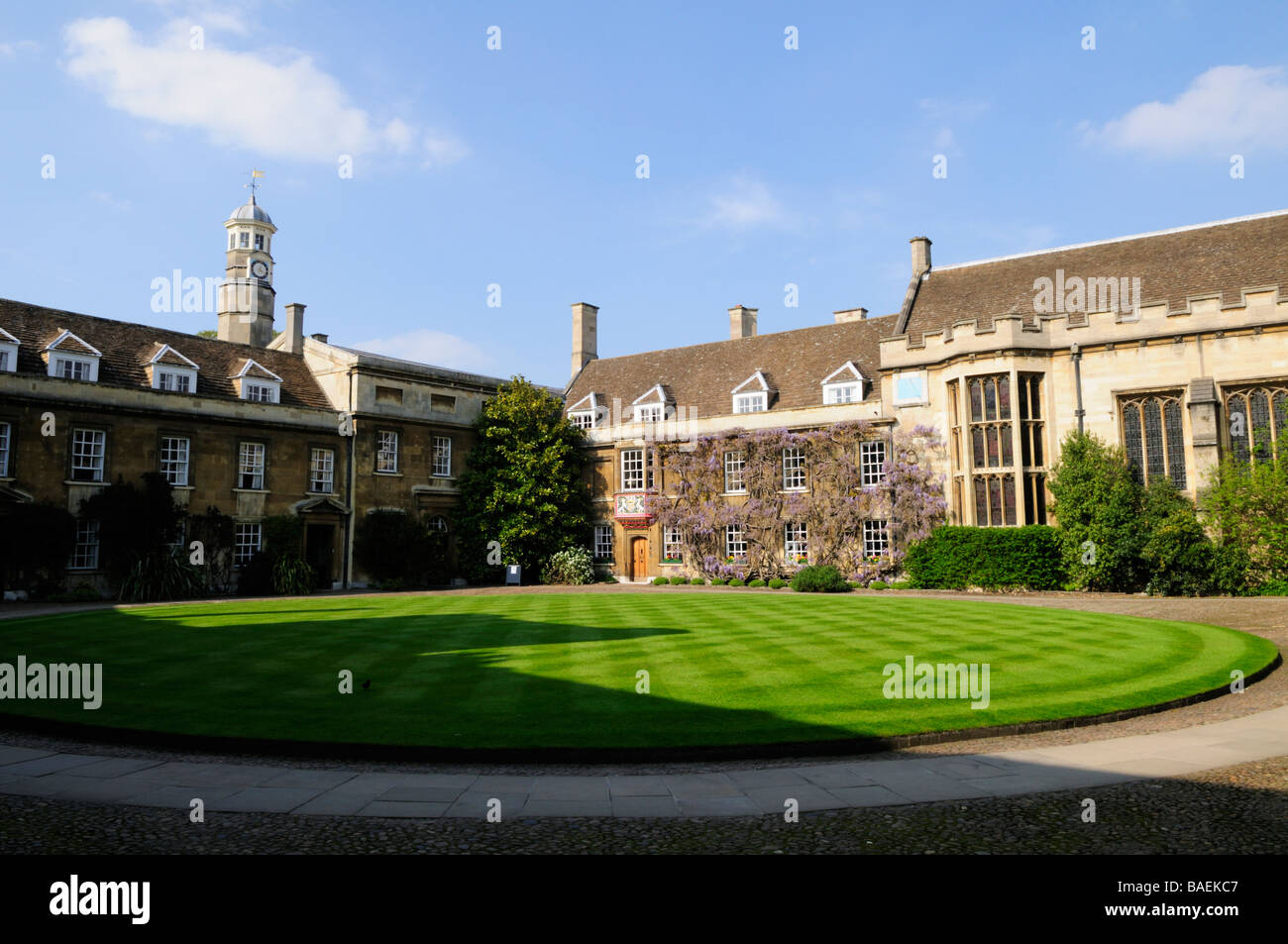 First Court at Christs College Cambridge England UK - Stock Image