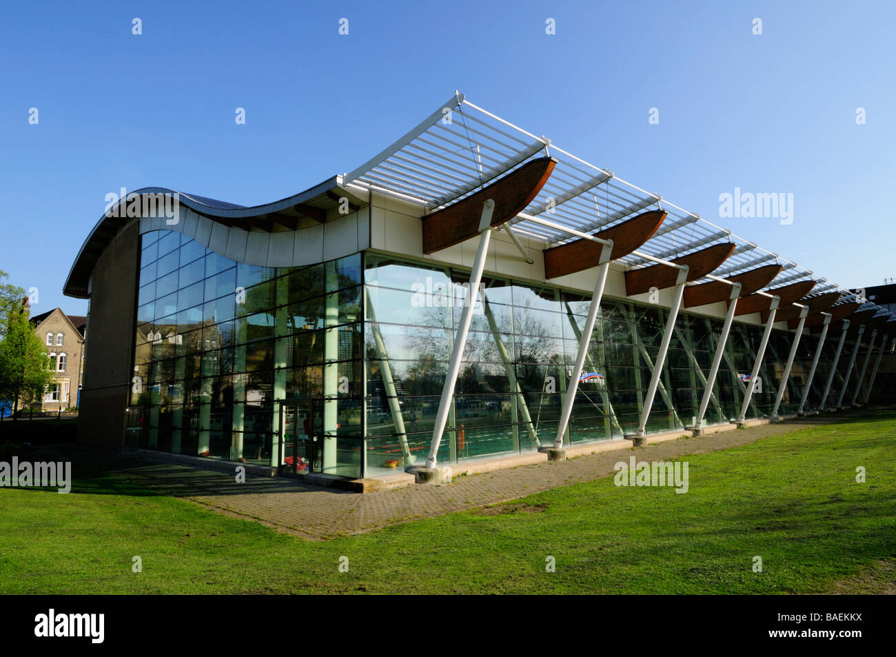 Parkside pools swimming pool cambridge england uk stock photo 23679710 alamy Swimming pools in cambridge uk