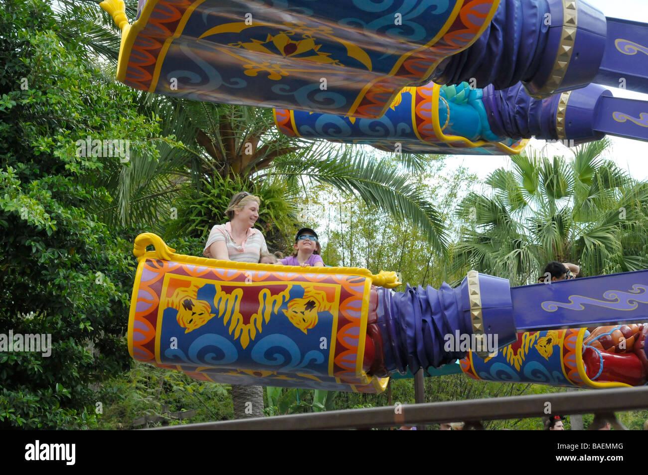 The Magic Carpets Of Aladdin Ride At Walt Disney Magic