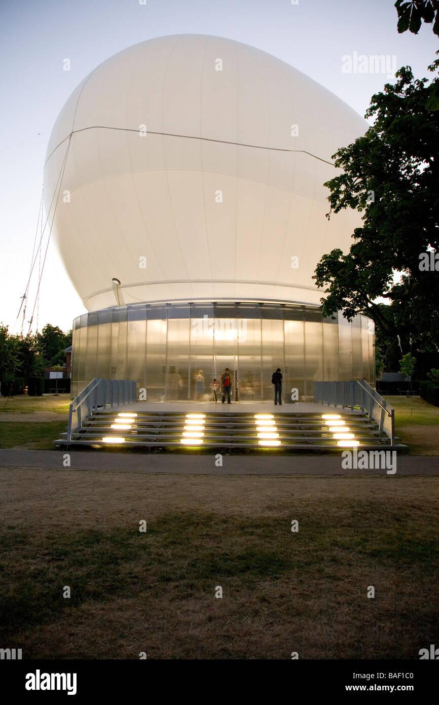 Serpentine Gallery Pavilion 2006, London, United Kingdom, Rem Koolhaas - Office for Metropolitan Architecture, Serpentine - Stock Image