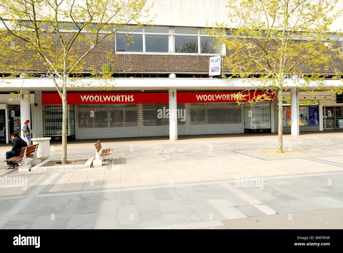 Woolworths Basildon - Stock Image