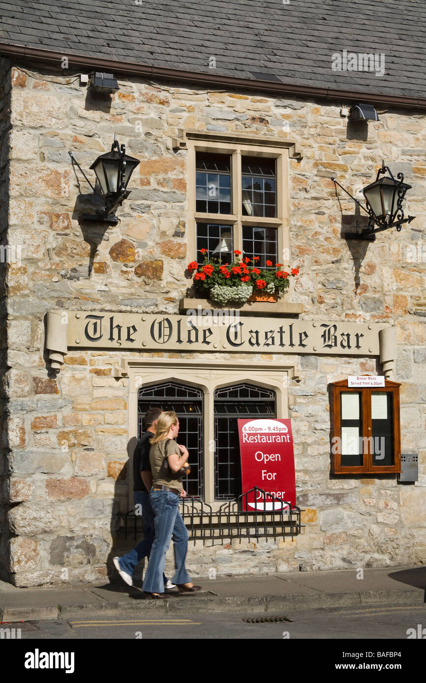 The Olde Castle Bar Donegal Town County Donegal Ireland - Stock Image