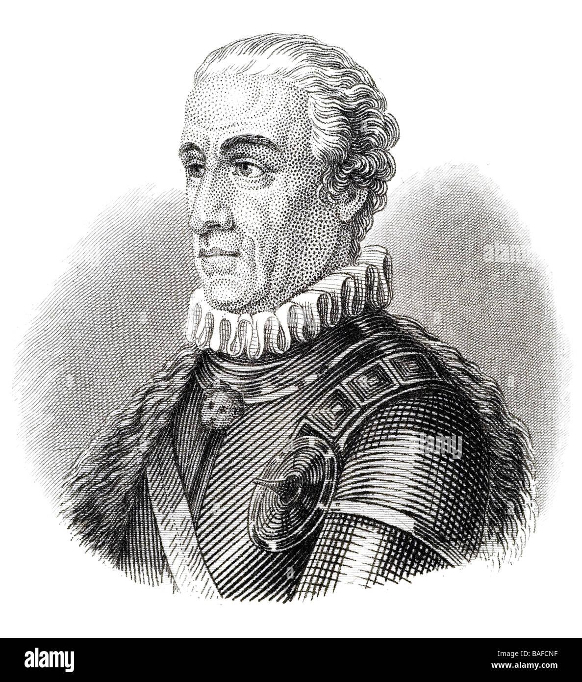 Baron Ernst Gideon von Laudon - Stock Image