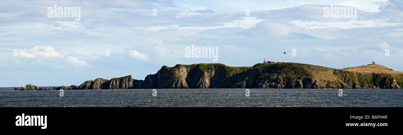 Panoramic view of Cape Horn, on the Southern most tip of South America. - Stock Image