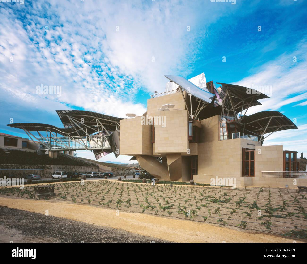 Bodegas Marques De Riscal Elciego Spain Frank Gehry Bodegas