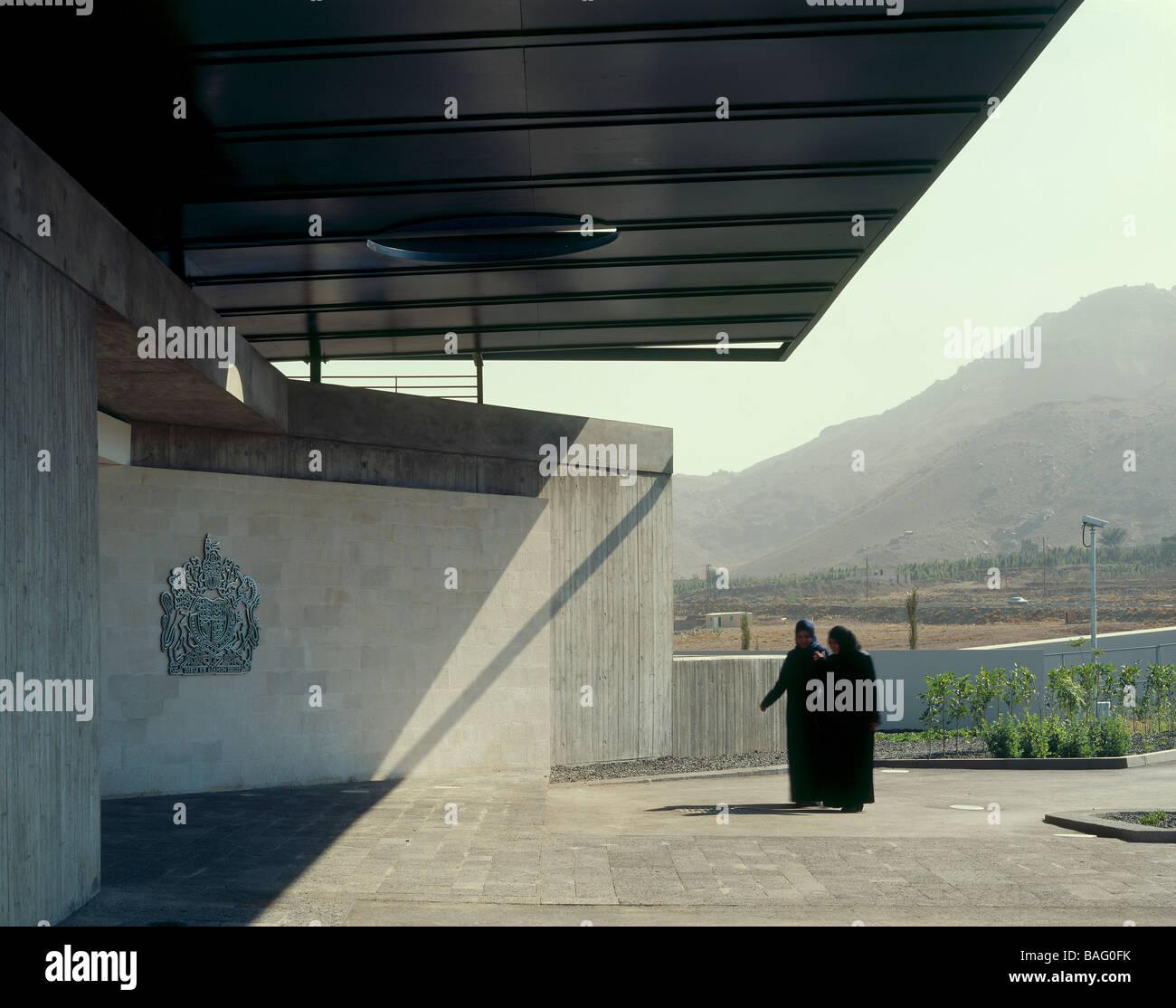 British Embassy Sanaa A Yemen Design Engine Architects British Stock Photo Alamy
