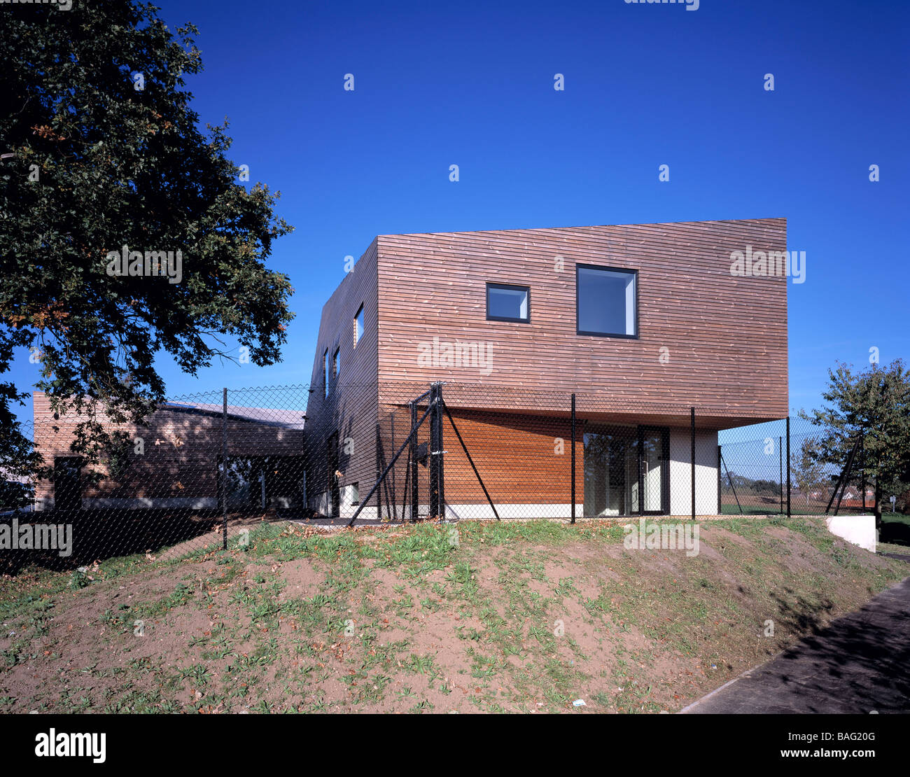 COLCHESTER SURE START CENTRE, DSDHA ARCHITECTS, COLCHESTER, UNITED KINGDOM - Stock Image