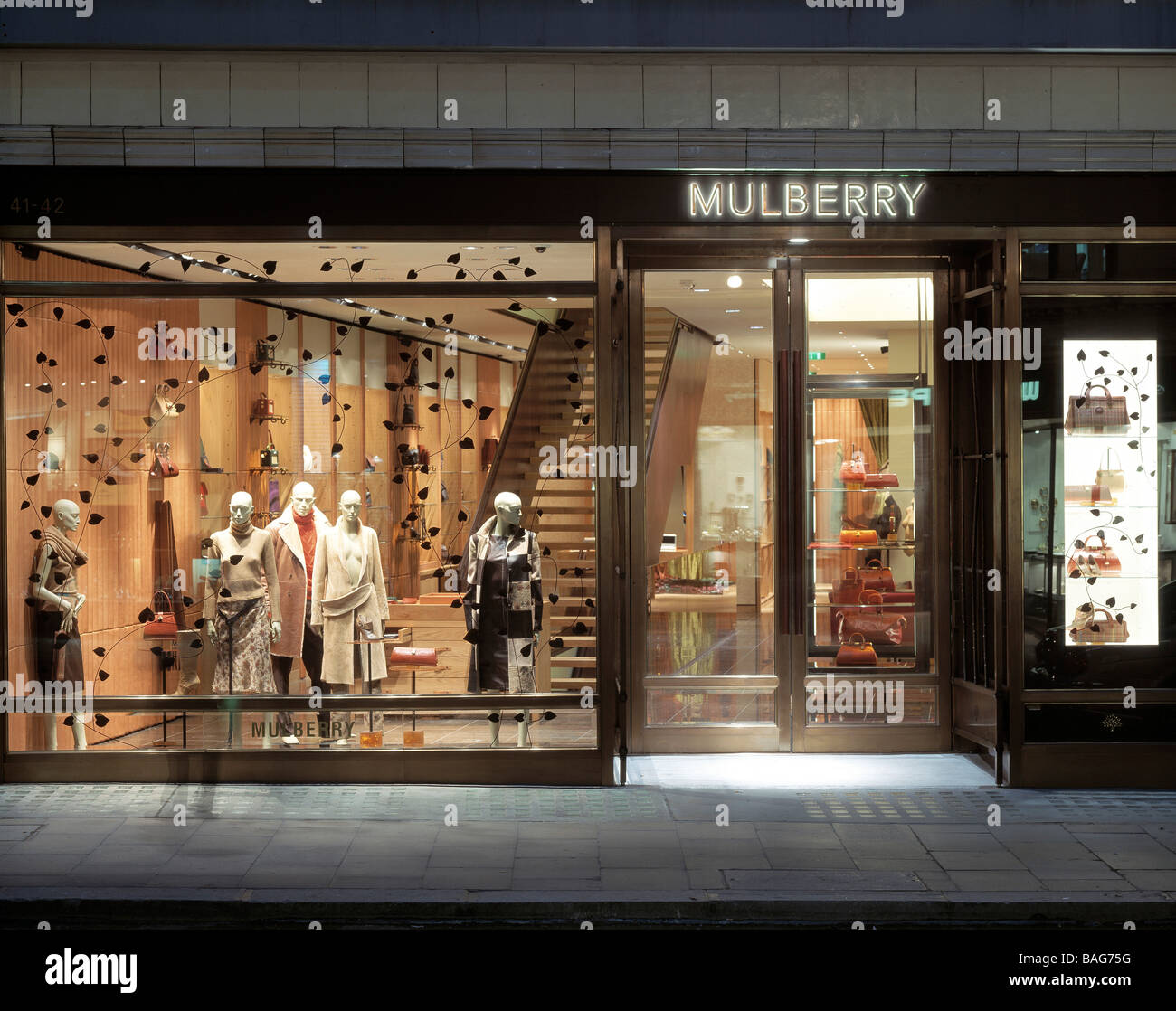 39192af6e26 Mulberry Store, London, United Kingdom, Four IV Design, Mulberry store.