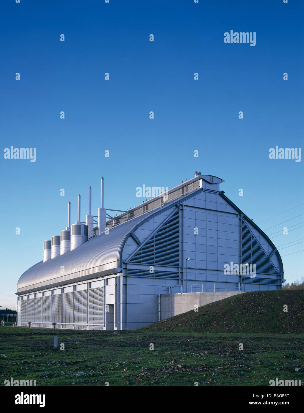 Abbey Mills Pumping Station, London, United Kingdom, 1997 - Stock Image