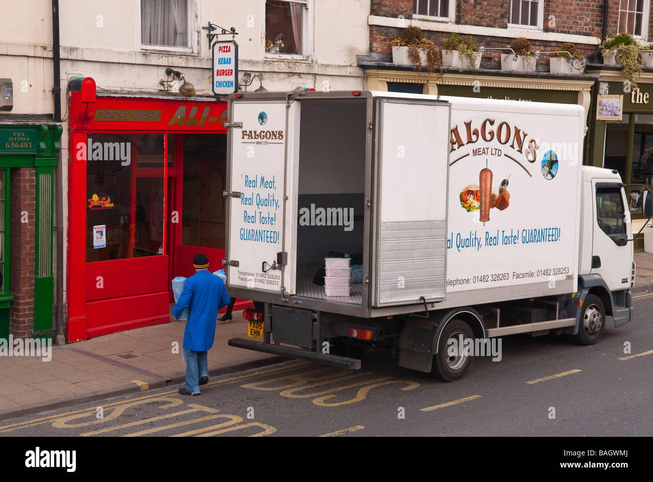 11295588d2 Meat Delivery Uk Stock Photos   Meat Delivery Uk Stock Images - Alamy