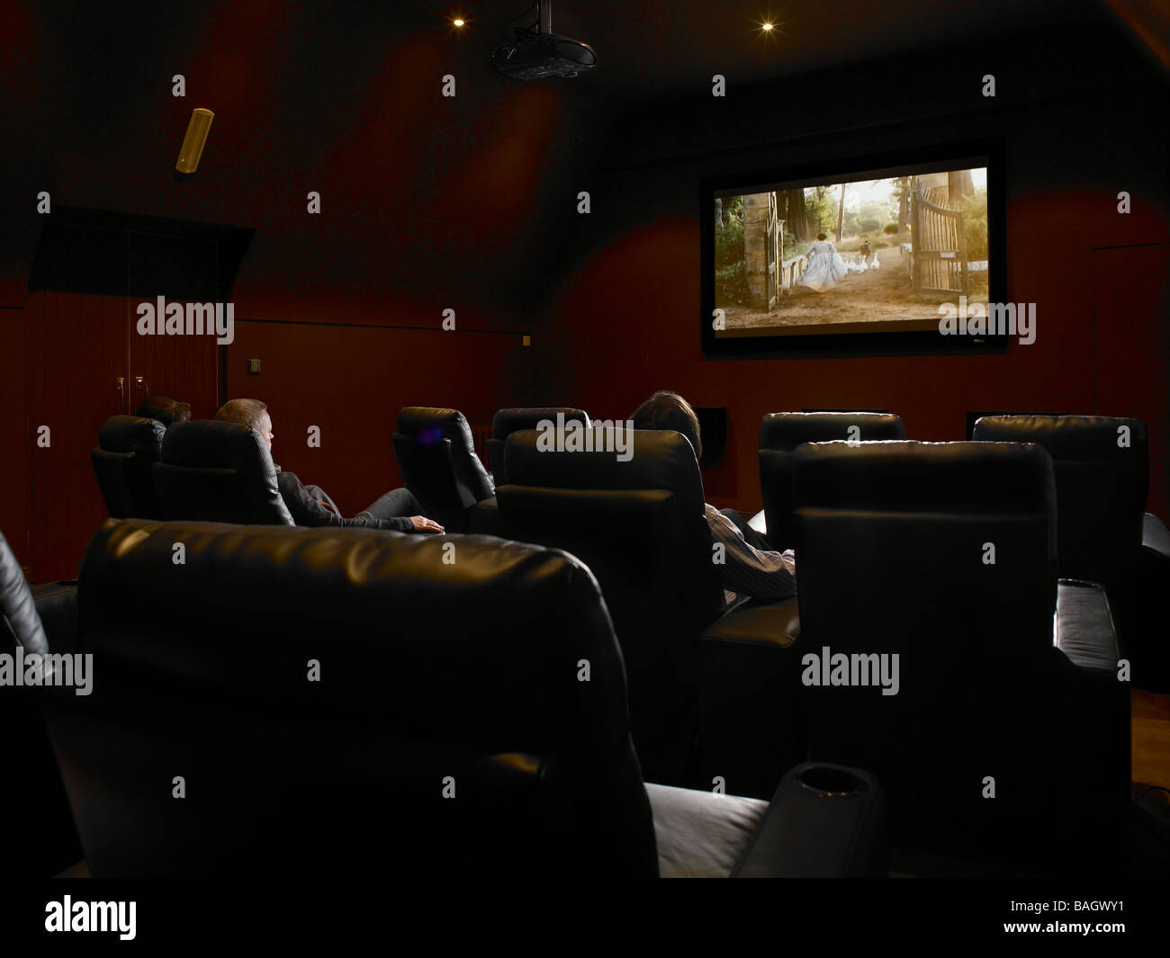 Cinema room - Stock Image