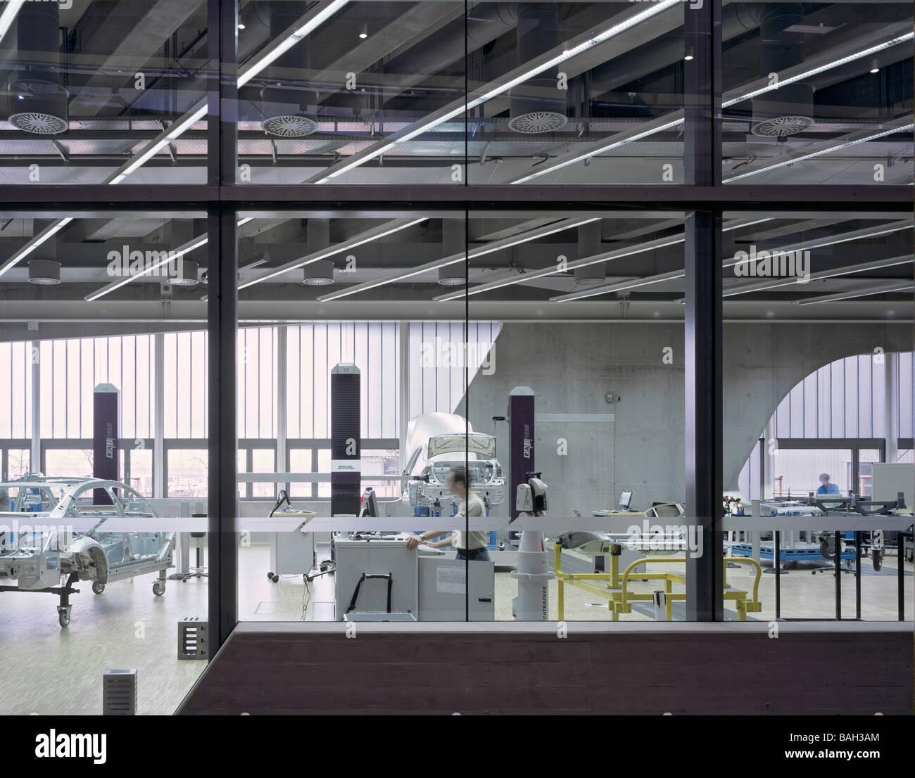 Bmw Plant Leipzig Central Building Leipzig Germany Zaha Hadid Bmw Stock Photo 23732764 Alamy