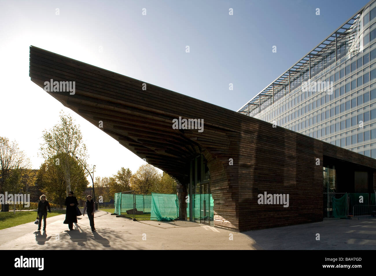POTTERS FIELDS KIOSK, DSDHA ARCHITECTS, LONDON, UNITED KINGDOM - Stock Image