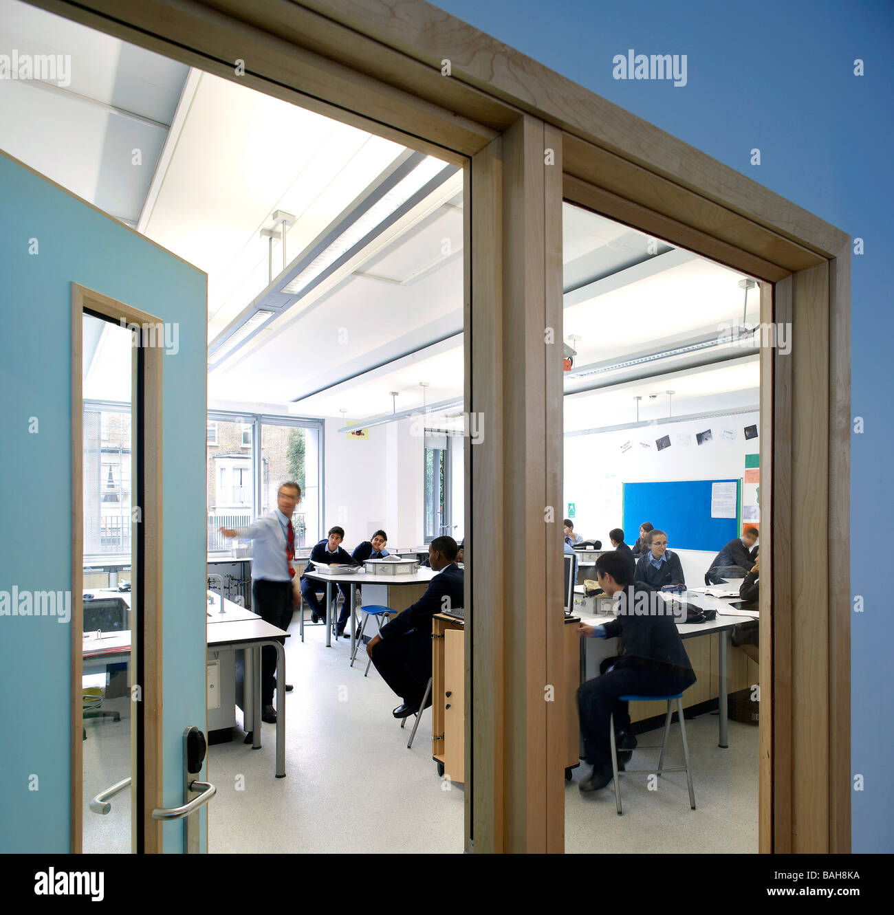 PADDINGTON ACADEMY, LONDON, UNITED KINGDOM, 2007 - Stock Image