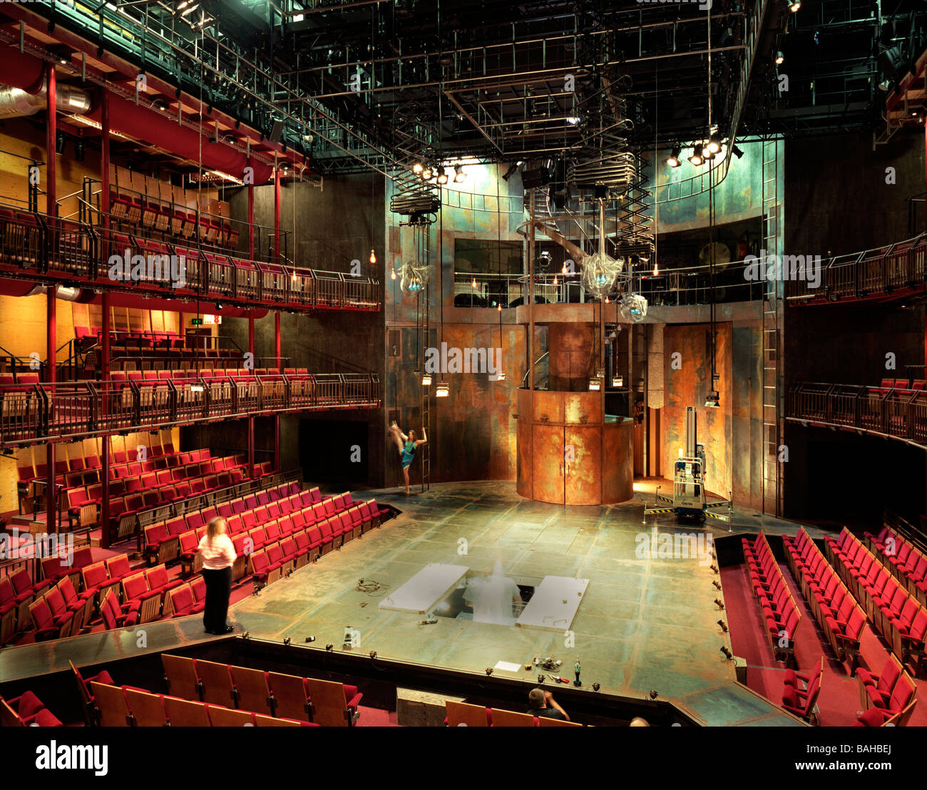 Rsc Courtyard Theatre, Stratford Upon Avon, United Kingdom ...