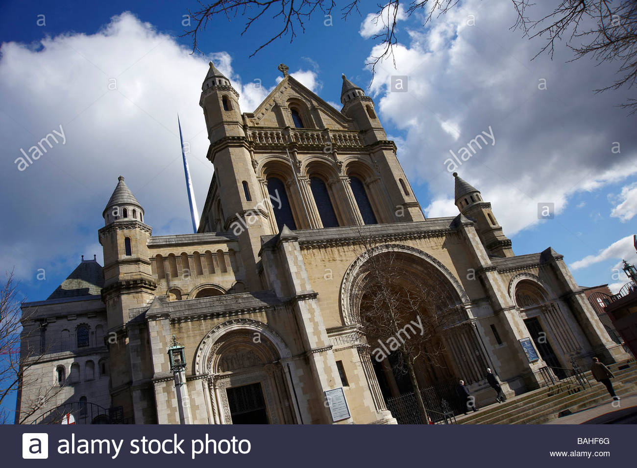 St Annes Cathedral, Cathedral Quarter, Belfast, Northern Ireland - Stock Image