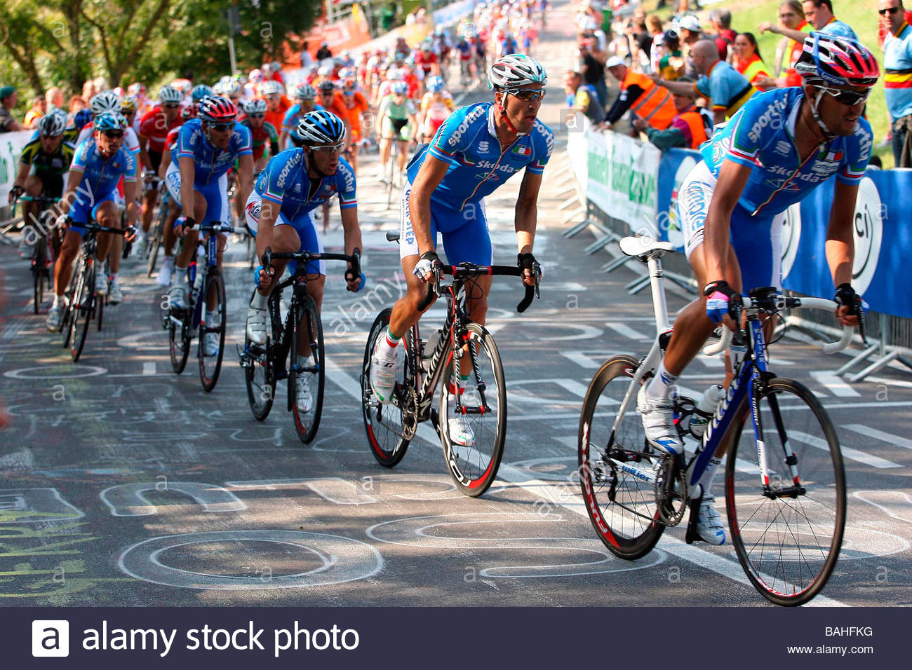 road cycling world championships, varese 2008'varese 28-09-2008'photo gianni nava/markanews - Stock Image