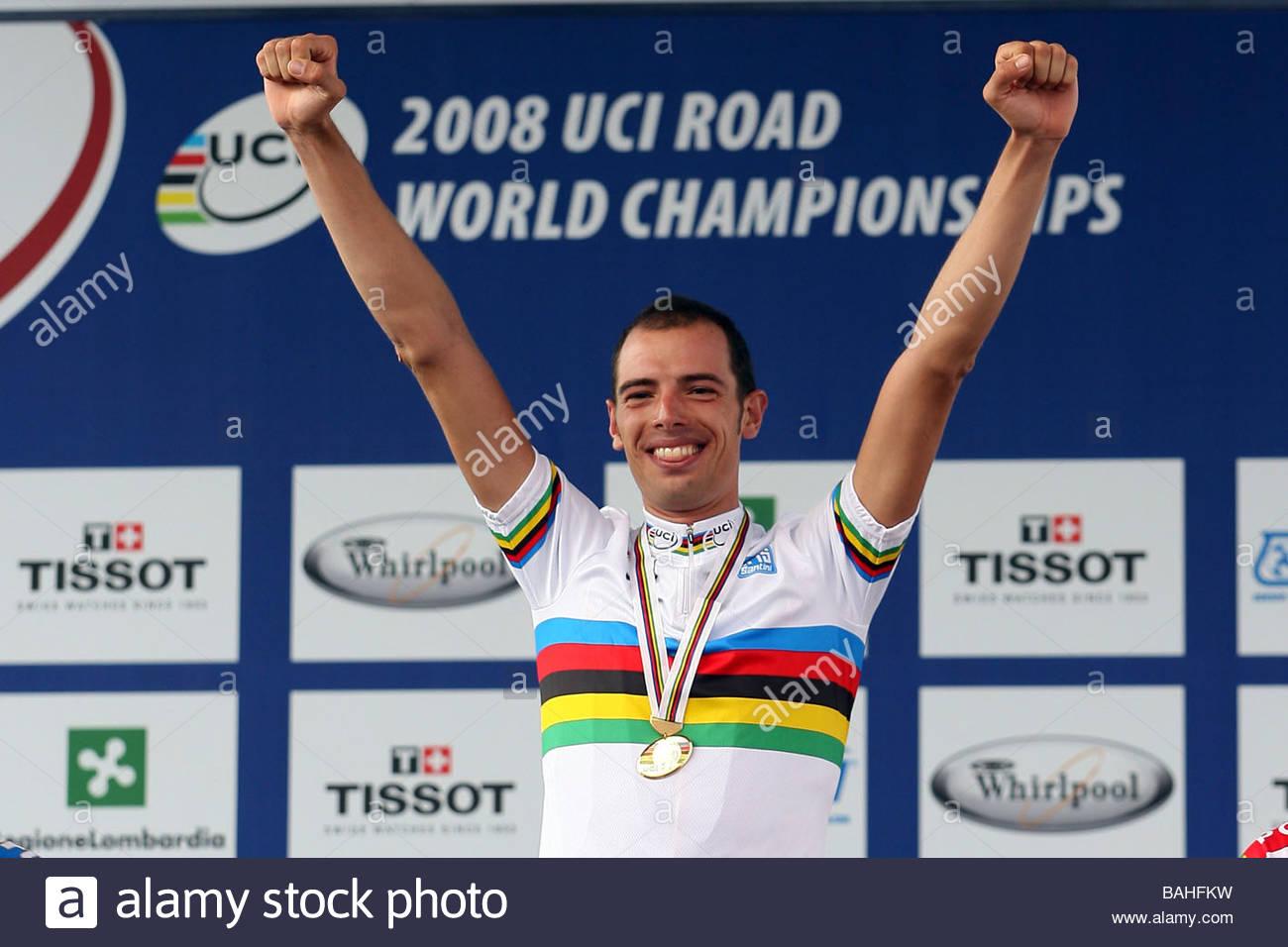 alessandro balla'varese 28-09-2008'road cycling world championships, varese 2008'photo gianni nava/markanews - Stock Image
