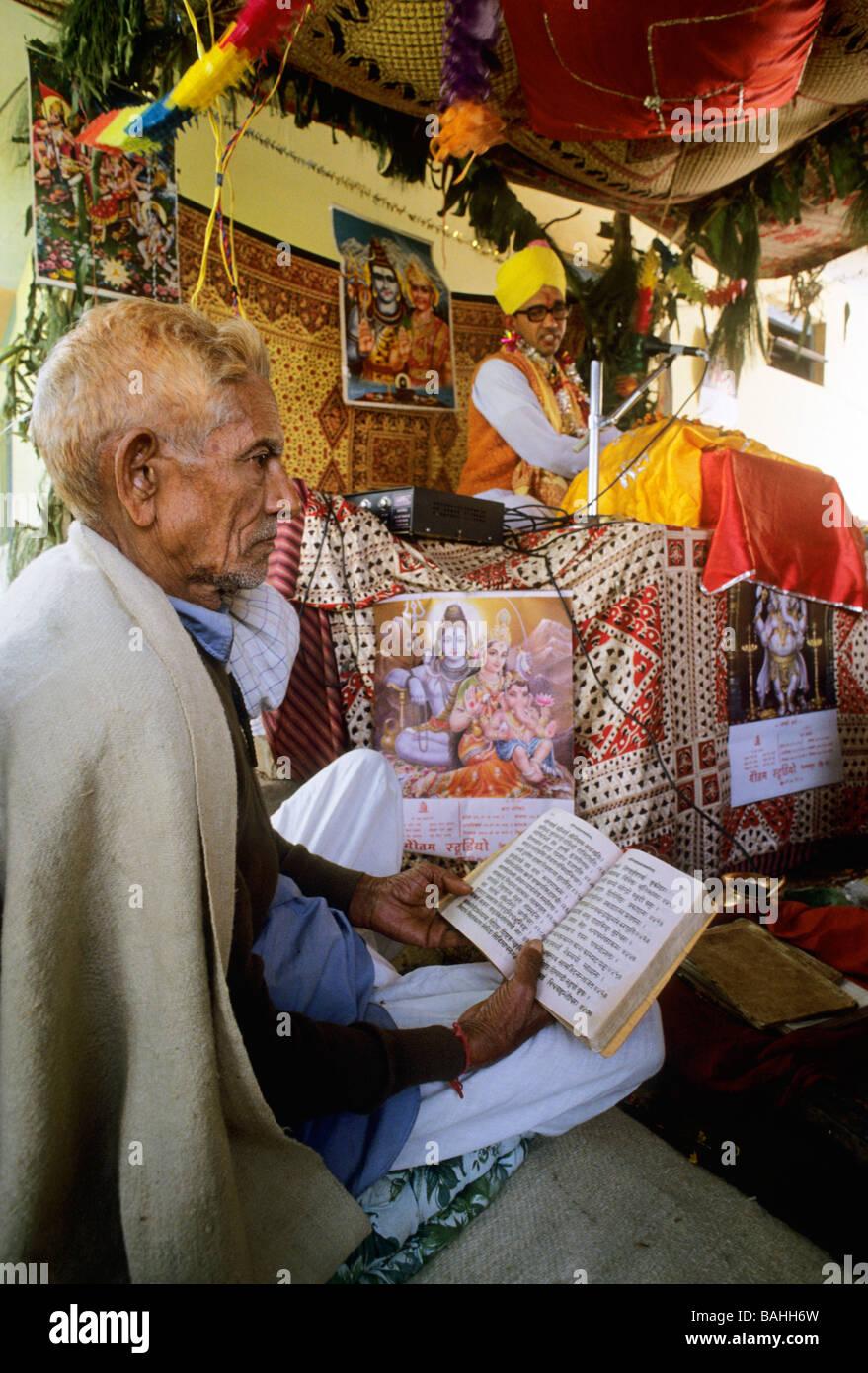 festa krisma, himachal pradesh, india, asia Stock Photo