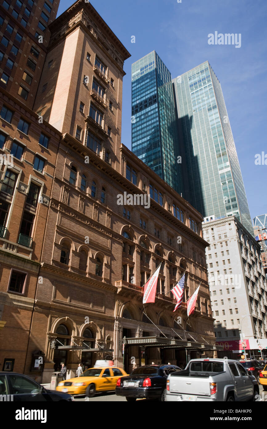 Carnegie Hall New York City - Stock Image