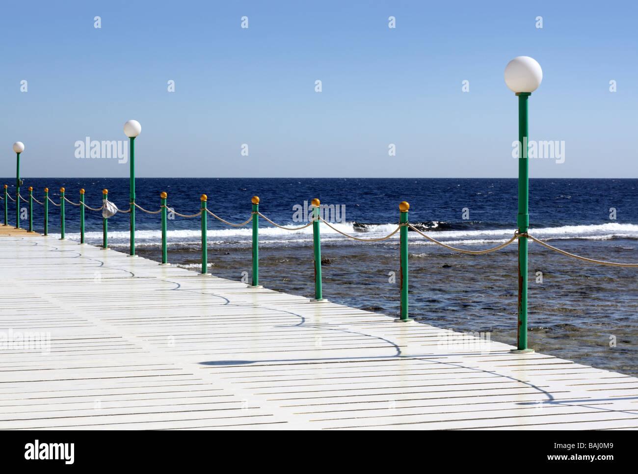 Aegypten Rotes Meer Quseir ein kleiner Ort 140 km suedlich von Hurghada xxxxx - Stock Image