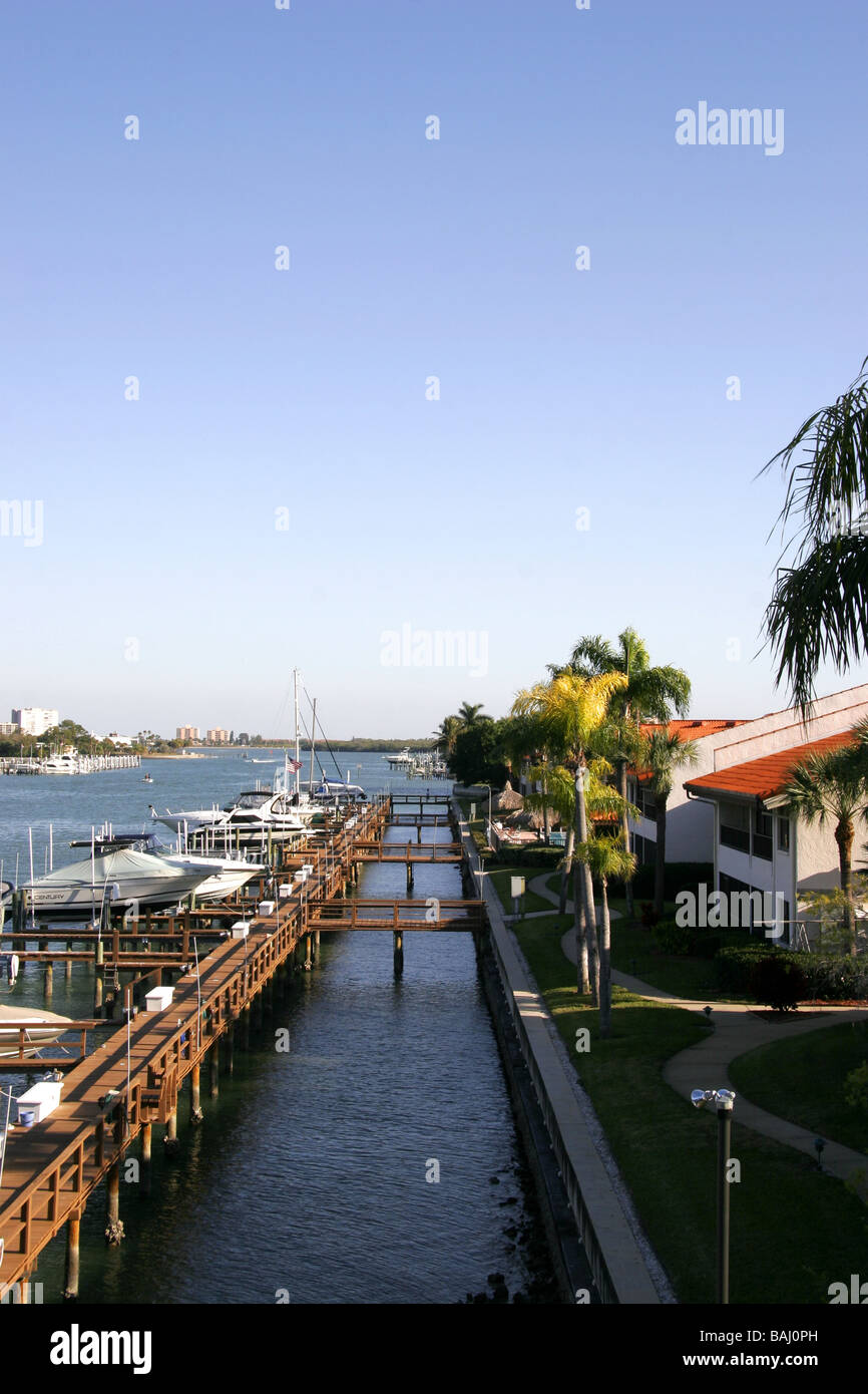 Florida Waterfront Properties Stock Photos & Florida