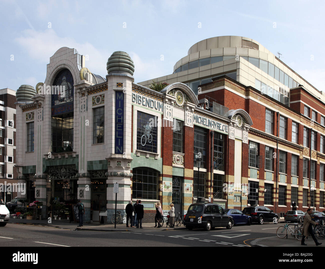 Michelin House Royal Borough of Kensington Chelsea London UK - Stock Image