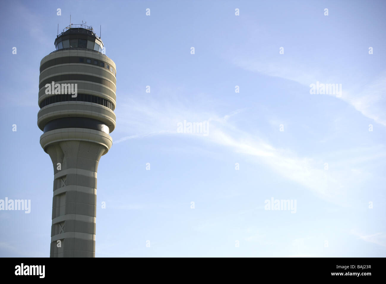 Airport control tower - Stock Image