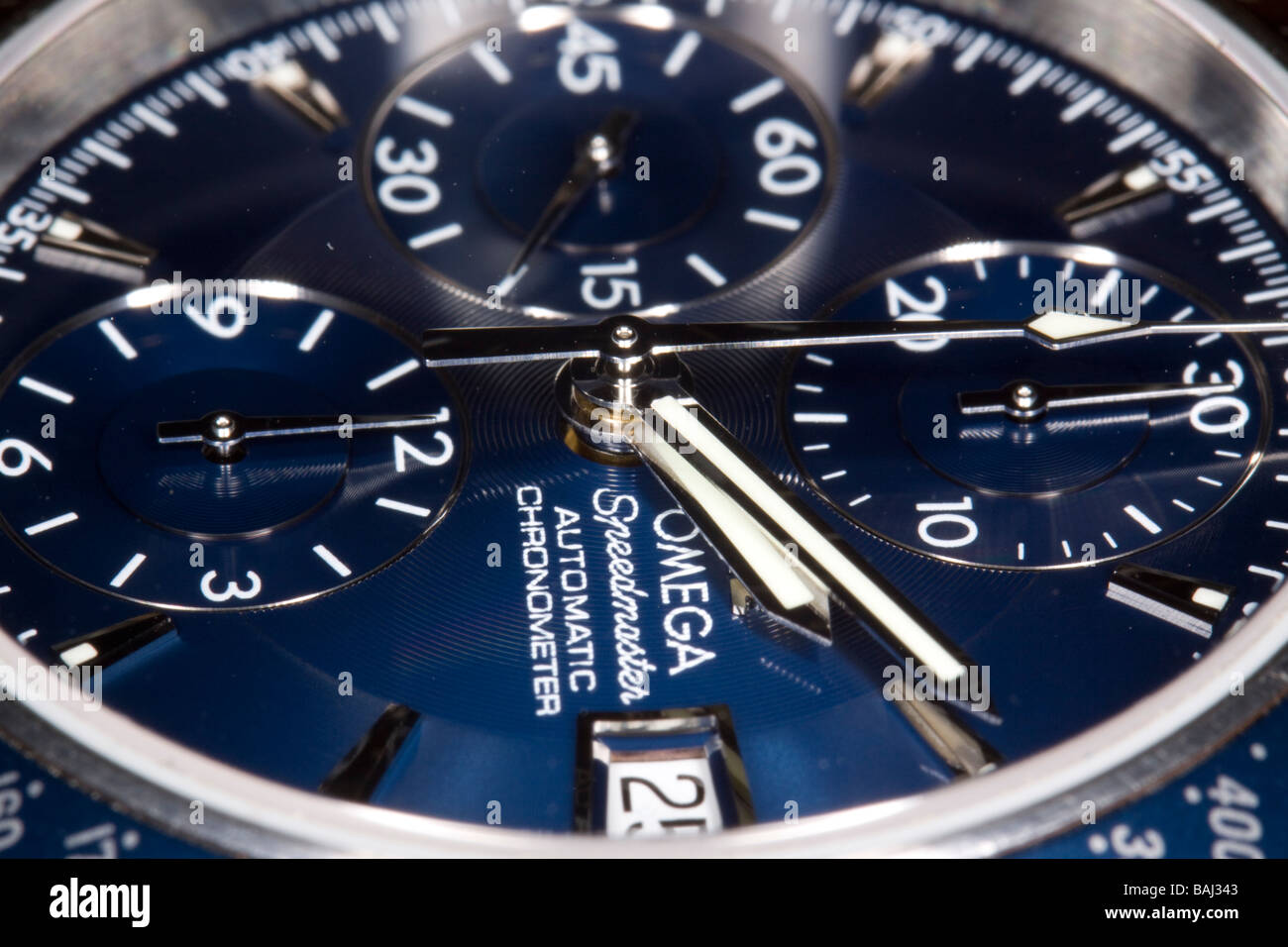 Omega Speedmaster Stock Photo