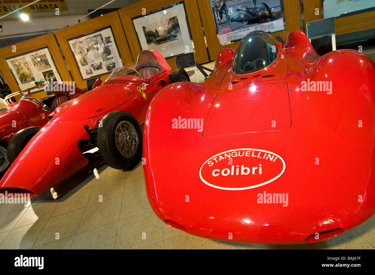 Stanguellini Museum Of Historic Cars Modena Italy   Stock Image
