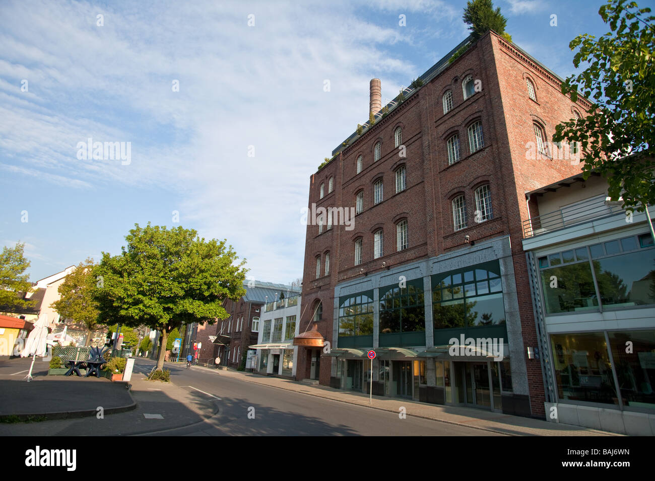 the Linden Brewery in Unna, The Route of Industrial Culture , NRW,  North Rhine - Westphalia, Germany - Stock Image