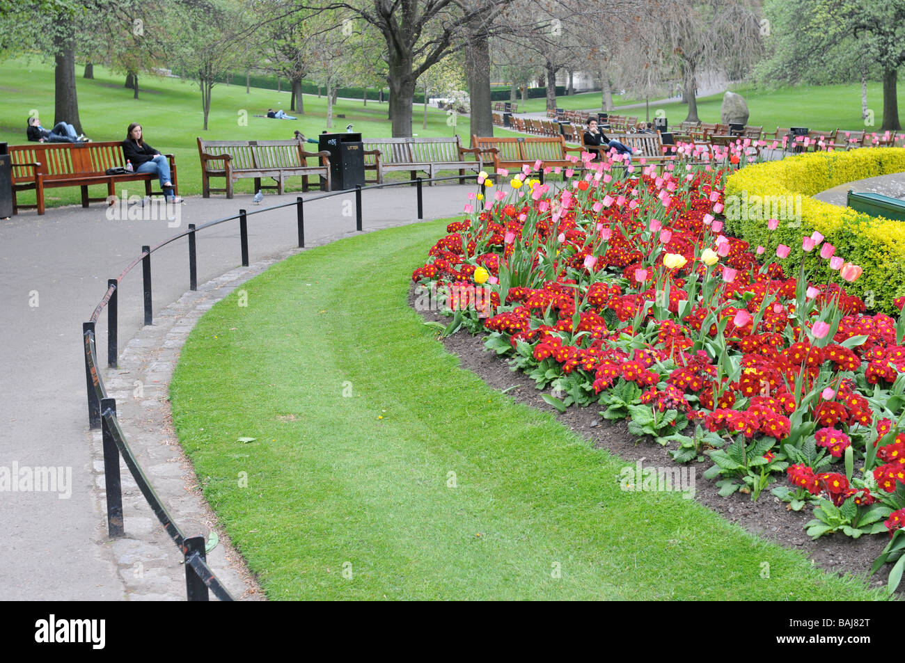 Edinburgh Flowers Stock Photos Edinburgh Flowers Stock Images Alamy