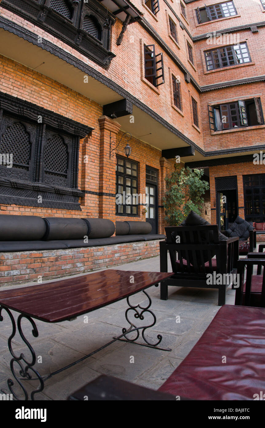 Restored Newari Home Turned Into A Luxury Hotel In Thamel