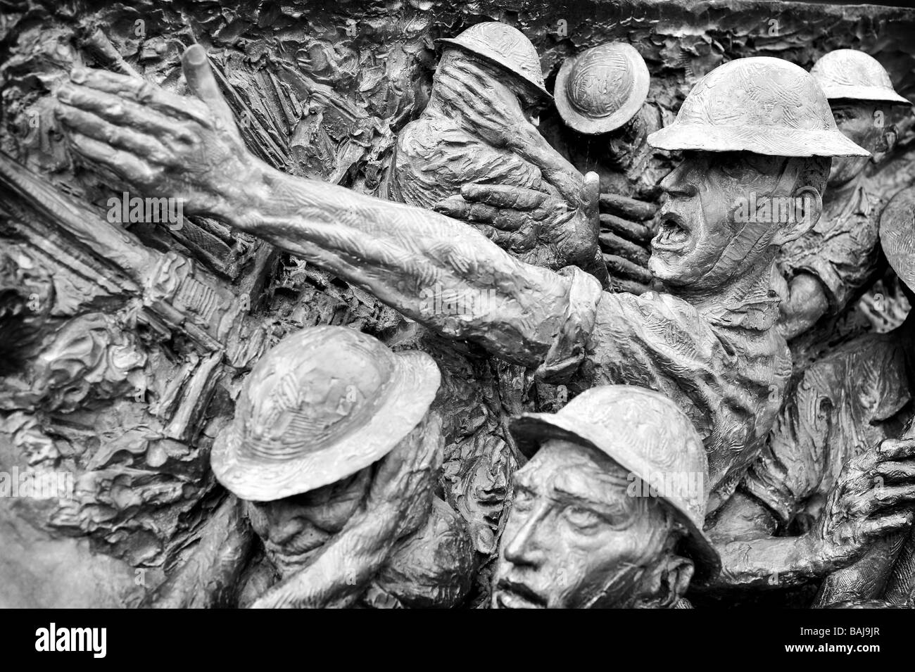 battle of britain memorial sculpture london - Stock Image